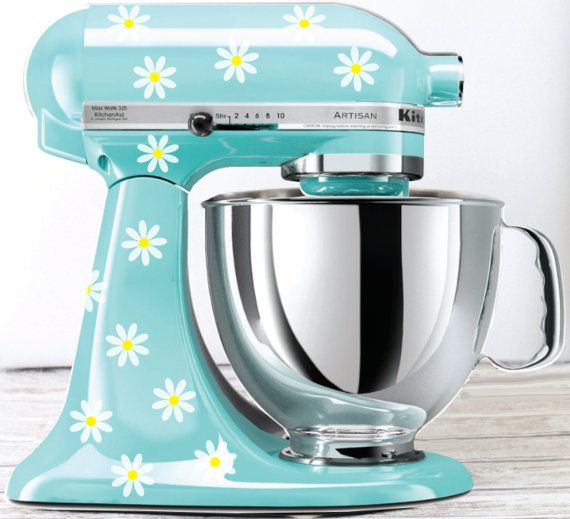 kitchen mixers mid range cabinets daisy mixer decals decal stickers vinyl to be used on aid vin