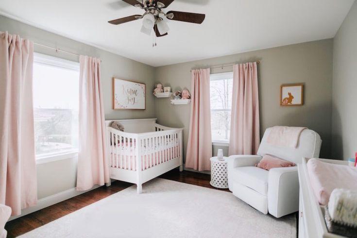Baby Girl Kindergarten Tour in 2020 Kinderzimmer für