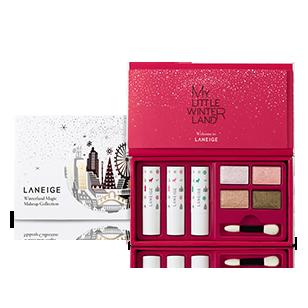 ba6e55e65ab  홀리데이콜렉션  윈터랜드 매직 메이크업 콜렉션 LaNeige Winterland set Cosmetic Packaging