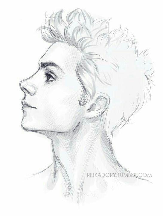 Tantum Amor Capítulo I Tres Veces Perfiles Dibujo Dibujos De Hombres Mejor Dibujo