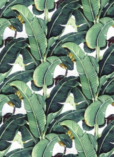 The Original Martinique Banana Leaf Wallpaper Which Was