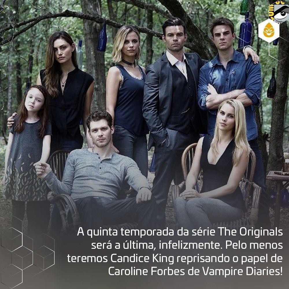Coxinhanasdcc A Quinta Temporada Da Serie The Originals Sera A