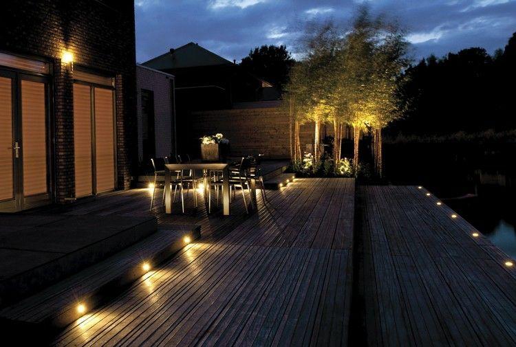 ideas para luces de patio o terraza