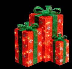 Outdoor lighted christmas gift boxes tis the season pinterest outdoor lighted christmas gift boxes mozeypictures Gallery
