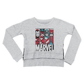 Avengers Girls' Sweatshirt Grey