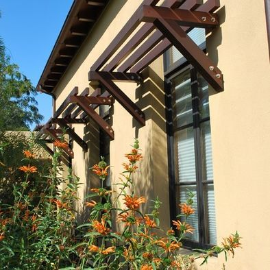 Exterior Shelves Above Windows Design Pictures Remodel Decor And Ideas Rustic Exterior House Exterior Windows Exterior
