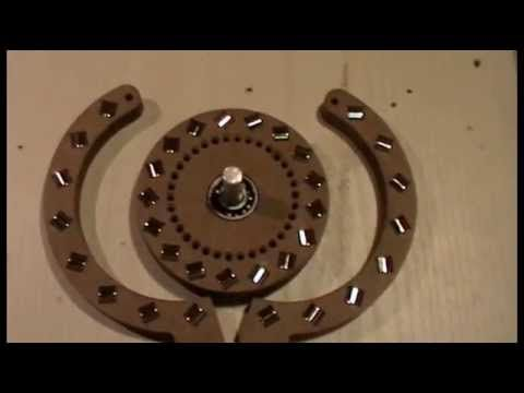 Free energy magnetic motor rotation move... - YouTube ...