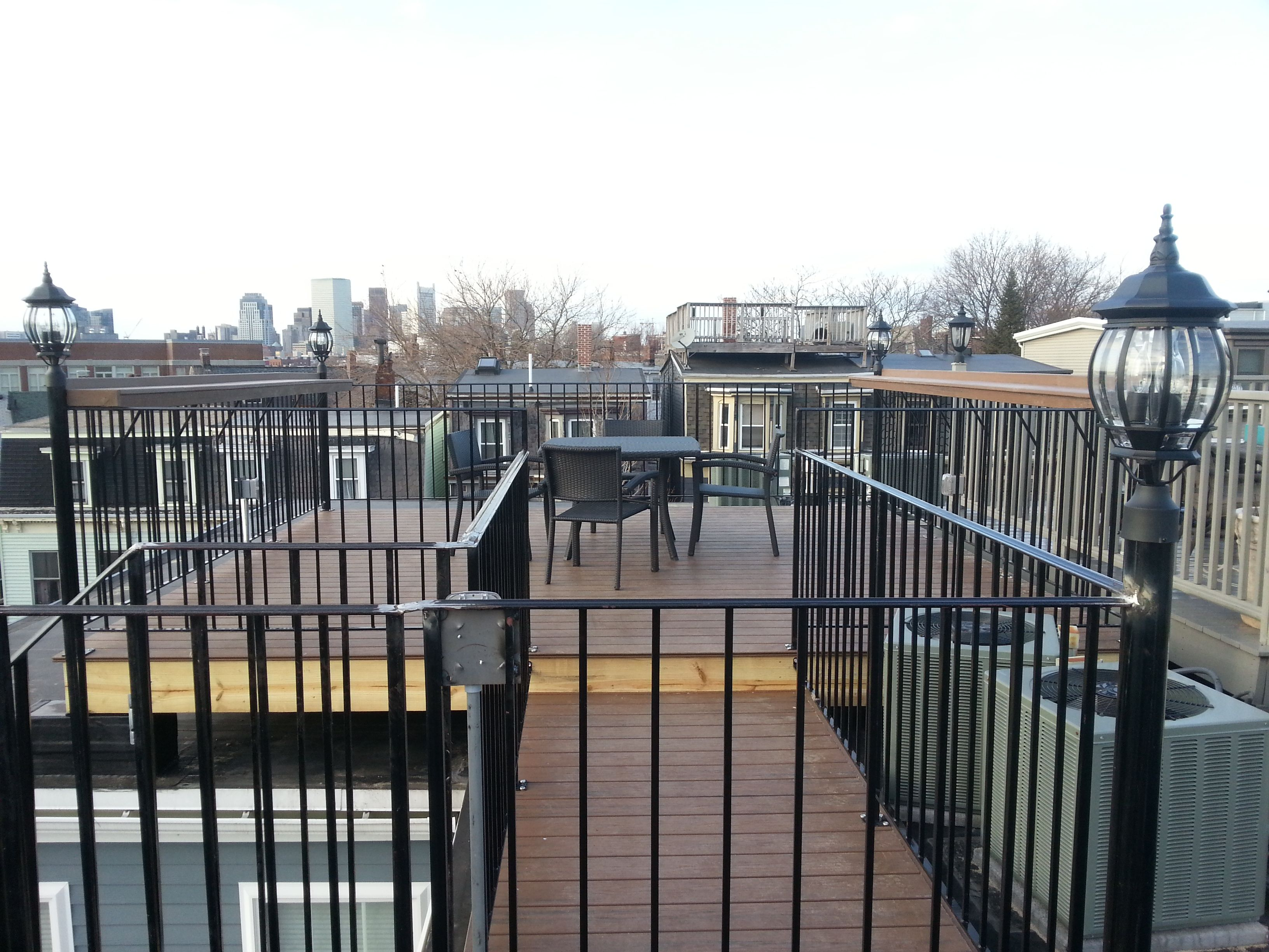 Telegraph Hill Roof Deck With Wrought Iron Railings 2 Composite