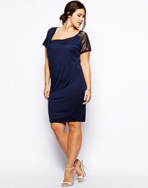 a0310f0263 25 vestidos cortos para mujeres un poco más gorditas