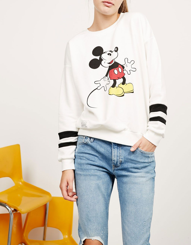 d794fb0469 BSK Mickey sweatshirt in 2019 | Wish List | Disney shoes, Disneyland ...