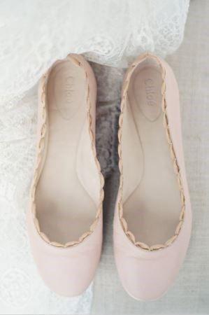 Bezaubernde flache Brautschuhe  Hochzeit  Brautschuhe