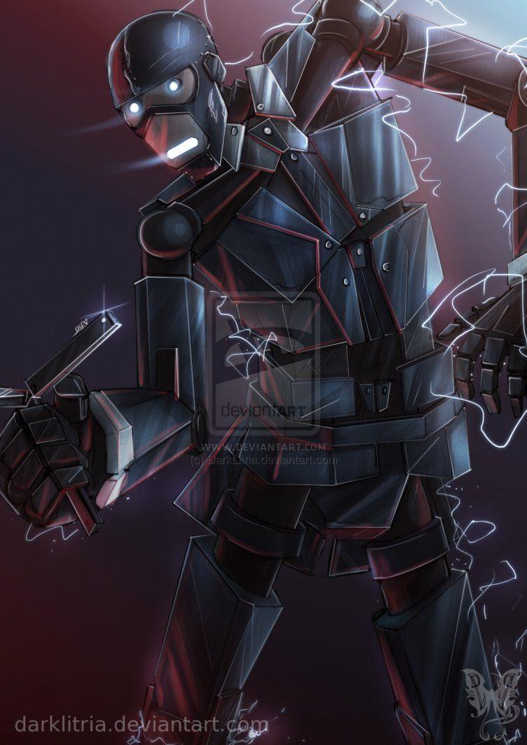 TF2: Spy Bot by DarkLitria on deviantART | ( ͡° ͜ʖ ͡°) tf2 stuff ( ͡