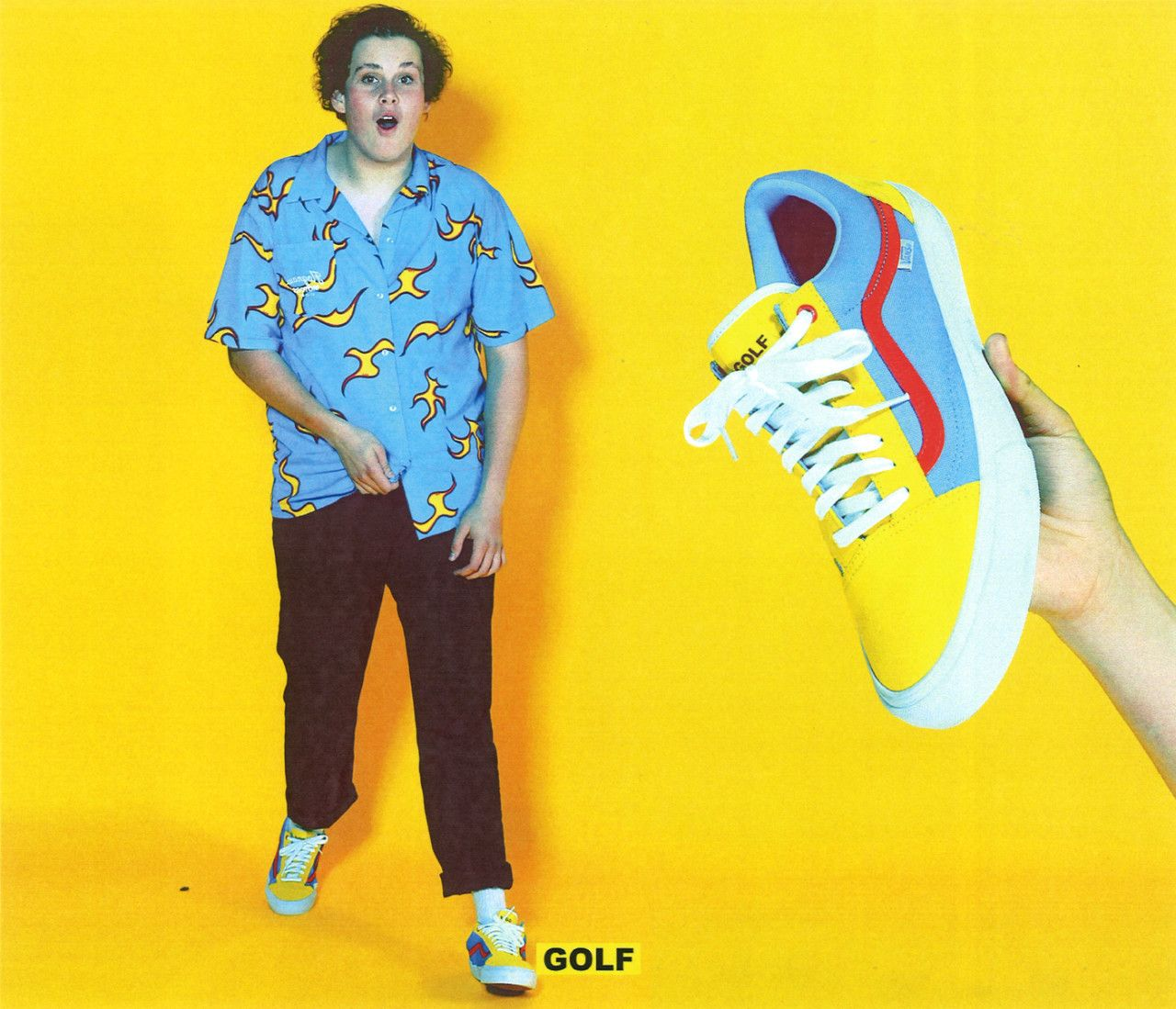 25fc34219a04 Golf Wang x Vans Old Skool Pro