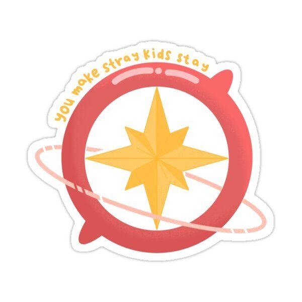 You Make Stray Kids Stay Sticker by peachandtea