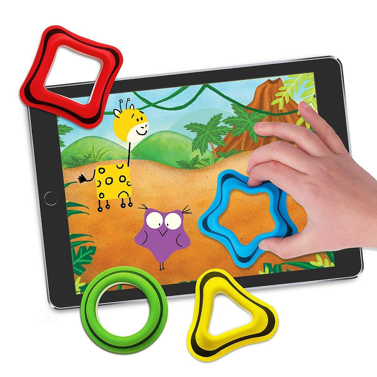 Shapes Tablet Game geometry game Learning games for