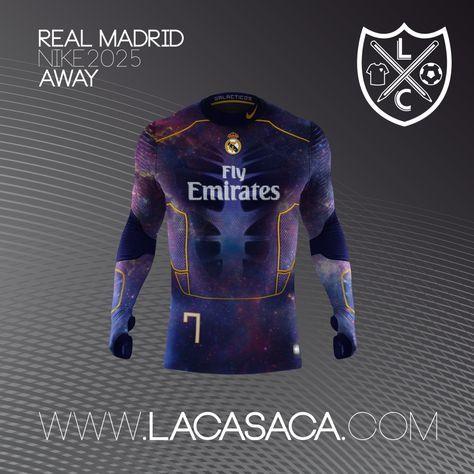 sale retailer e32f2 c3363 Nike 2025 Fantasy Kits - Real Madrid Away | soccer | Real ...