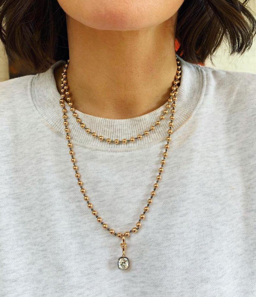 Necklace for women short shoulder necklace gold