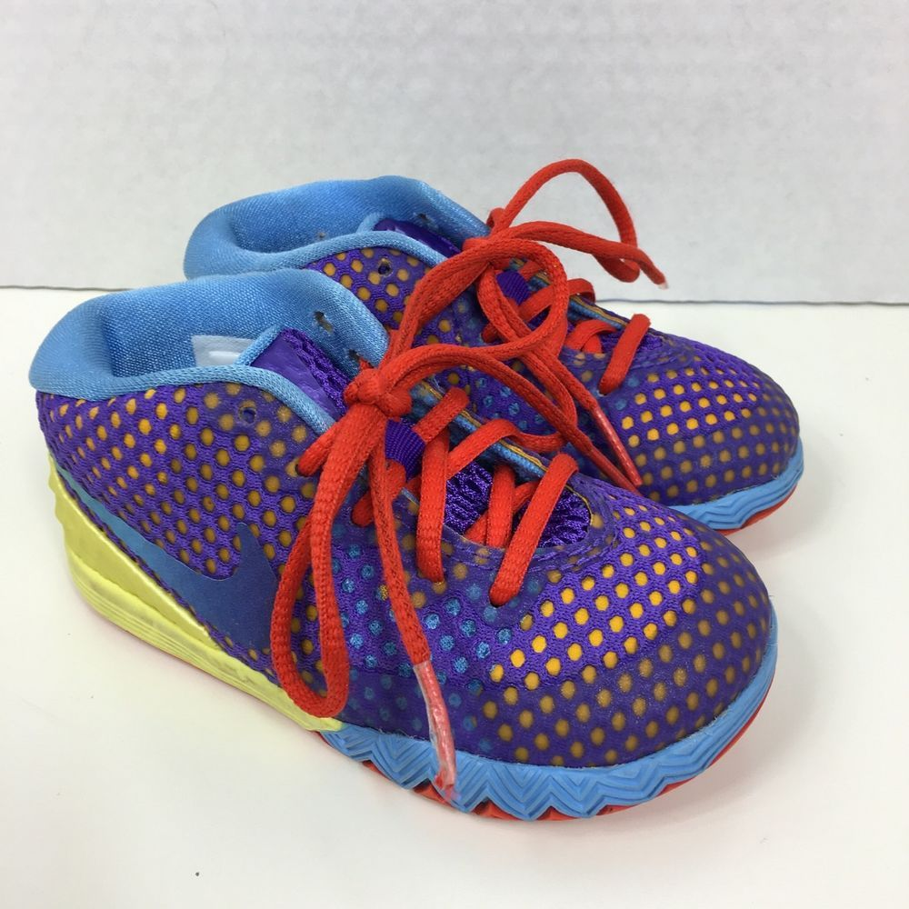 buy online 5fcb5 f4556 Nike Kyrie 1 Saturday Toddler Size 7C Shoes Rainbow Rare 717223 700  Nike   Athletic