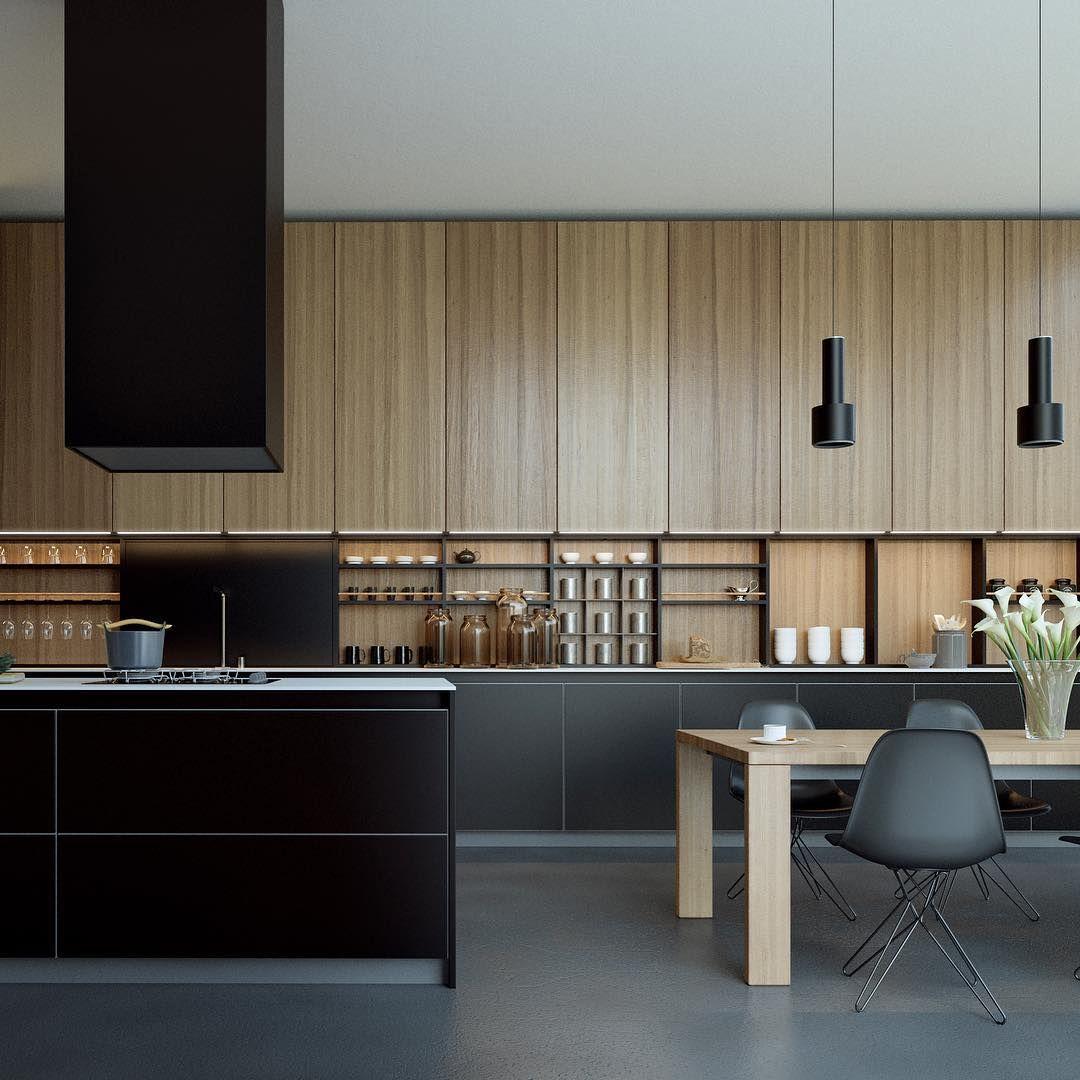Minimalist Kitchen Decor: Pin By Rabih Chakra On Interiors-kitchens