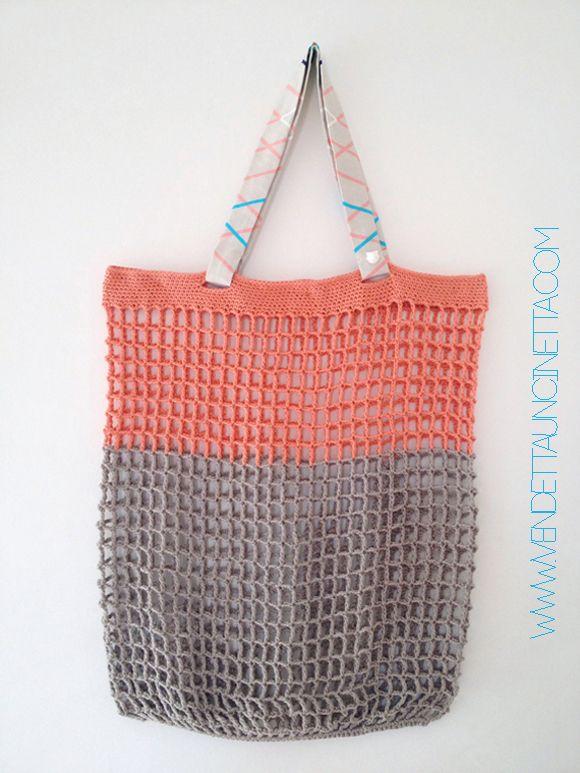 Borsa Estiva Crochet 2 Pinterest Crochet Crochet Stitches And