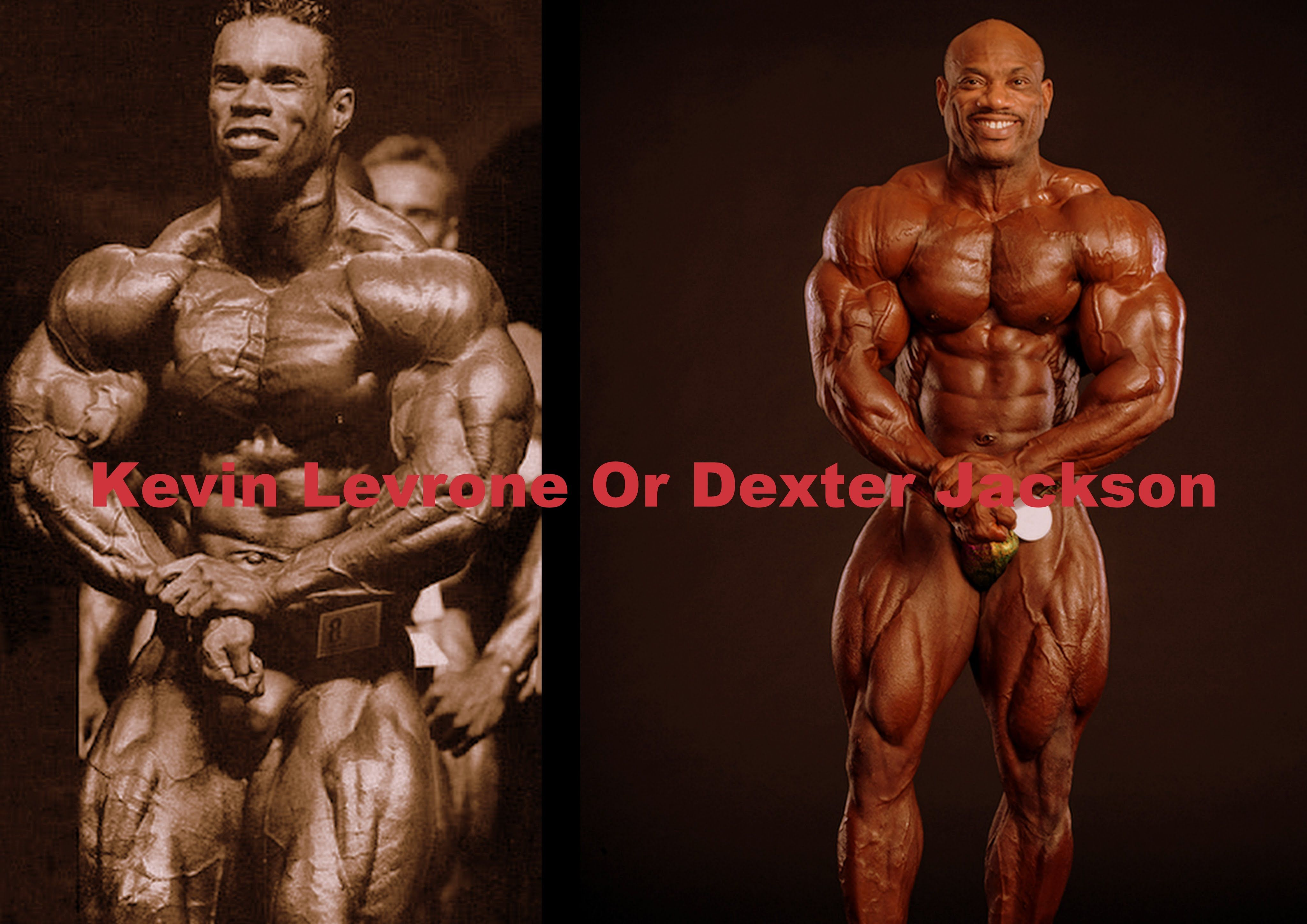 Kevin Levrone And Mr Olympia 2016 Mr Olympia Dexter Jackson Olympia