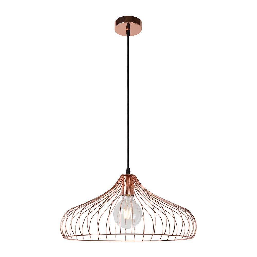 Suspension Vinti Bell - Cuivre Rouge | Pendant lighting, Pendant ...