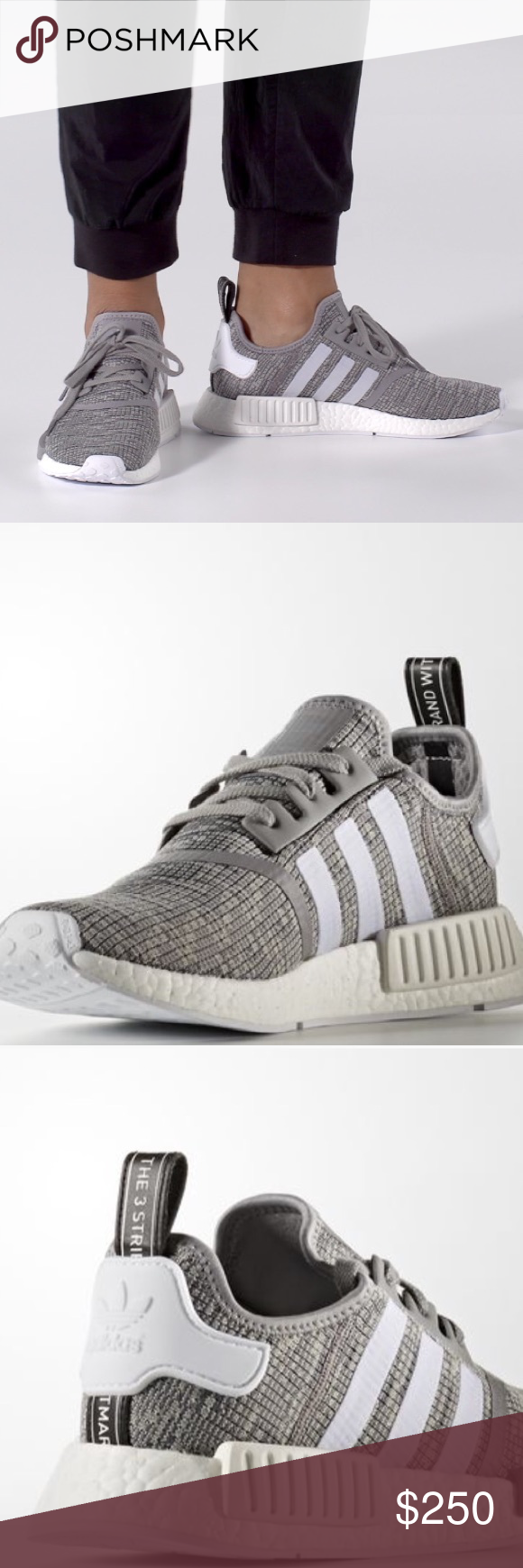 fe4491970 ADIDAS NMD R1 SNEAKERS-More photos will be up Sat. I have a Size 5 ...