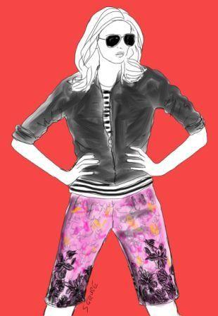 Neu im Blog: So trägt die sportlich-natürliche Frau den Flower-Look.
