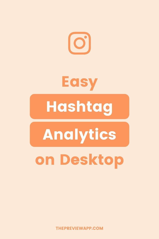 See Your Instagram Hashtag Analytics On Desktop In 2021 Instagram Insights Instagram Marketing Tips Instagram Feed Planner