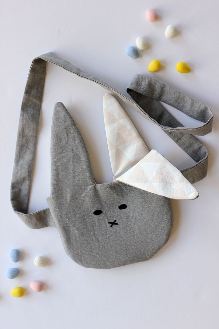 DIY Bunny Purse sewing tutorial