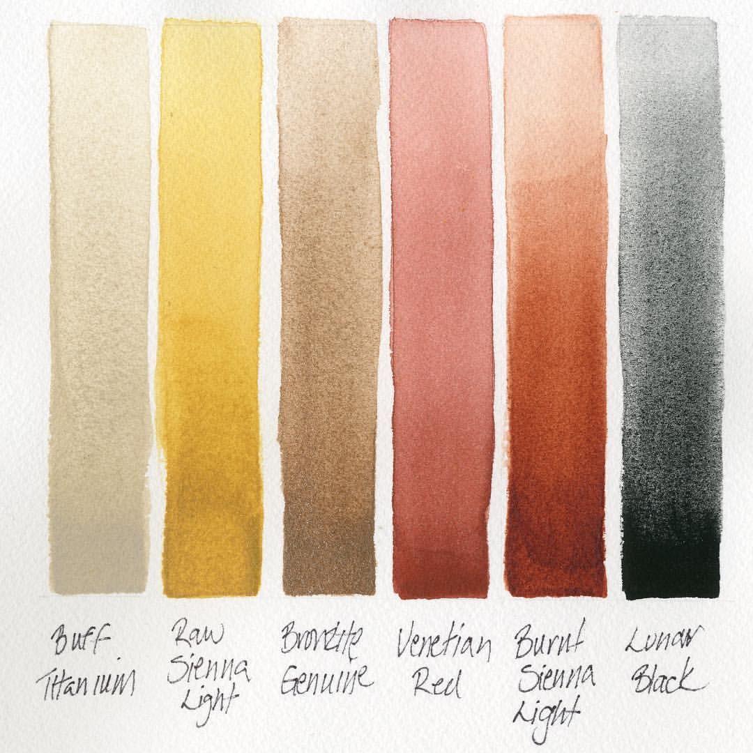 Cotman Water Colours Cadmium Red Deep Hue 4 49 Paint Tubes