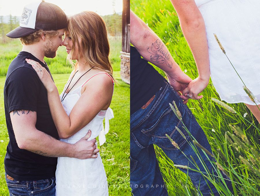 Country Engagement Session | © Janel Gion Photography