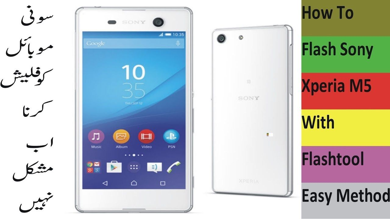 How To Flash Sony Xperia M5 With Flashtool No Box Required
