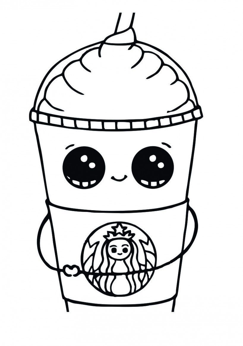 Why Is Everyone Talking About Starbucks Coloring Page