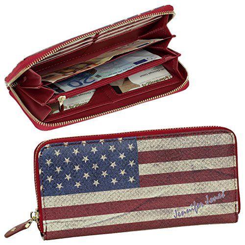 Damen Portemonnaie Geldbörsen Portmonee Blumen Lederbörse Handtasche Brieftasche