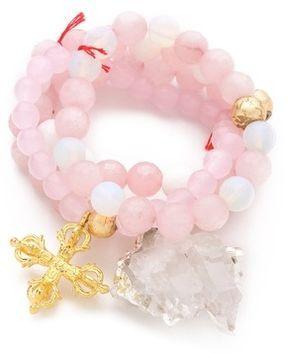 Lead Crystal Rock Bracelet Set on shopstyle.com