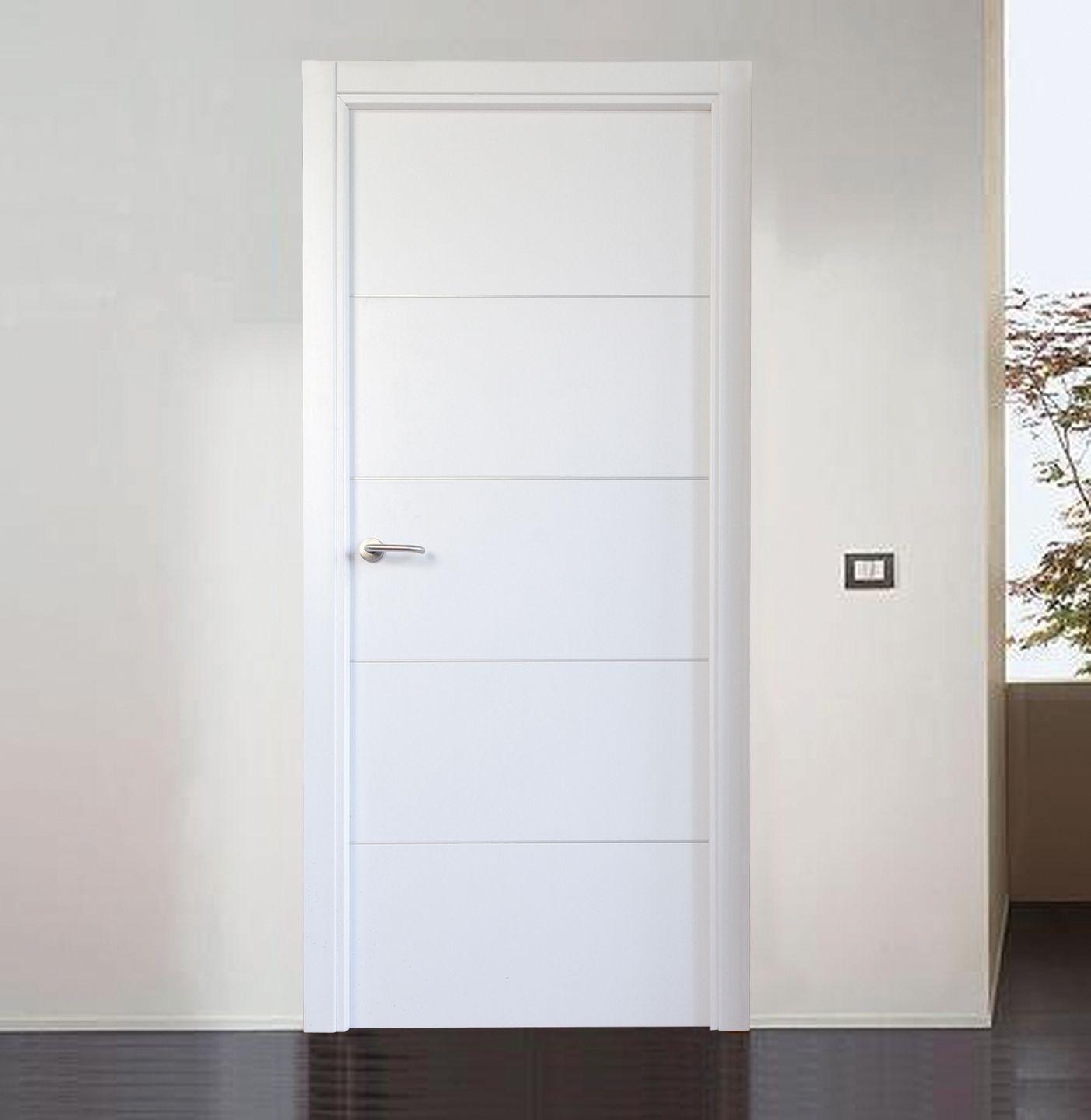 Resultado de imagen de modelos de puerta blancas lacadas - Puertas lacadas blancas ...
