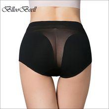 Venta caliente!! algodón de las mujeres underwear bragas señora atractiva  ahueca hacia fuera calzoncillos de cintura alta cordón de la muchacha briefs  ... cc65500588f1