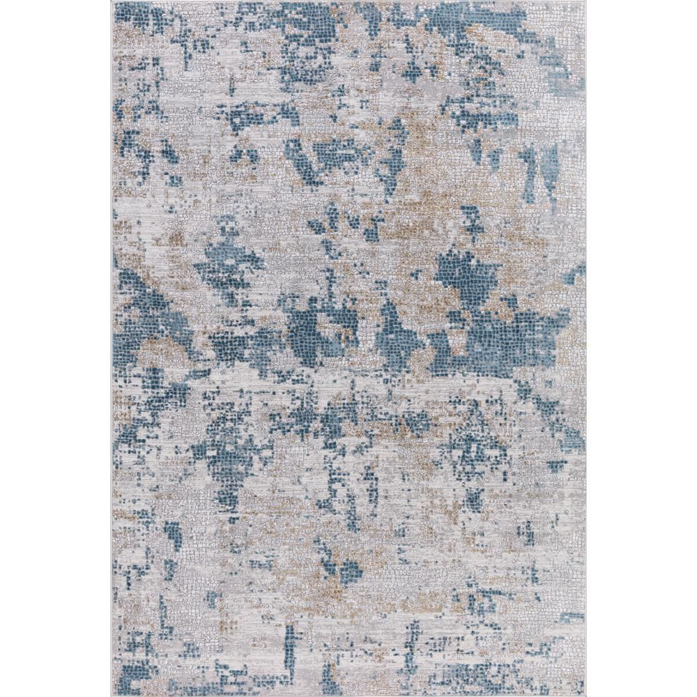 Amer Rugs Hilamrose Blue Abstract 8 Ft 6 In X 11 Ft 6 In Area