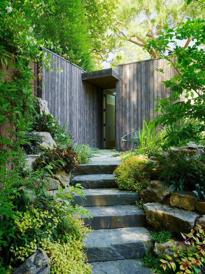 Mill Valley Cabins By Feldman Architecture California With Images Landscape Design Outdoor Gardens Natural Garden