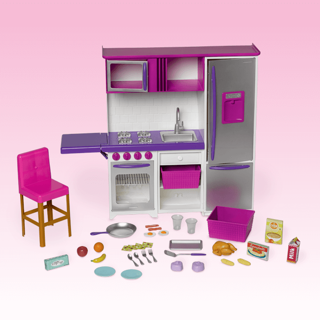 Kitchen Playset My Life As My Life As Dolls