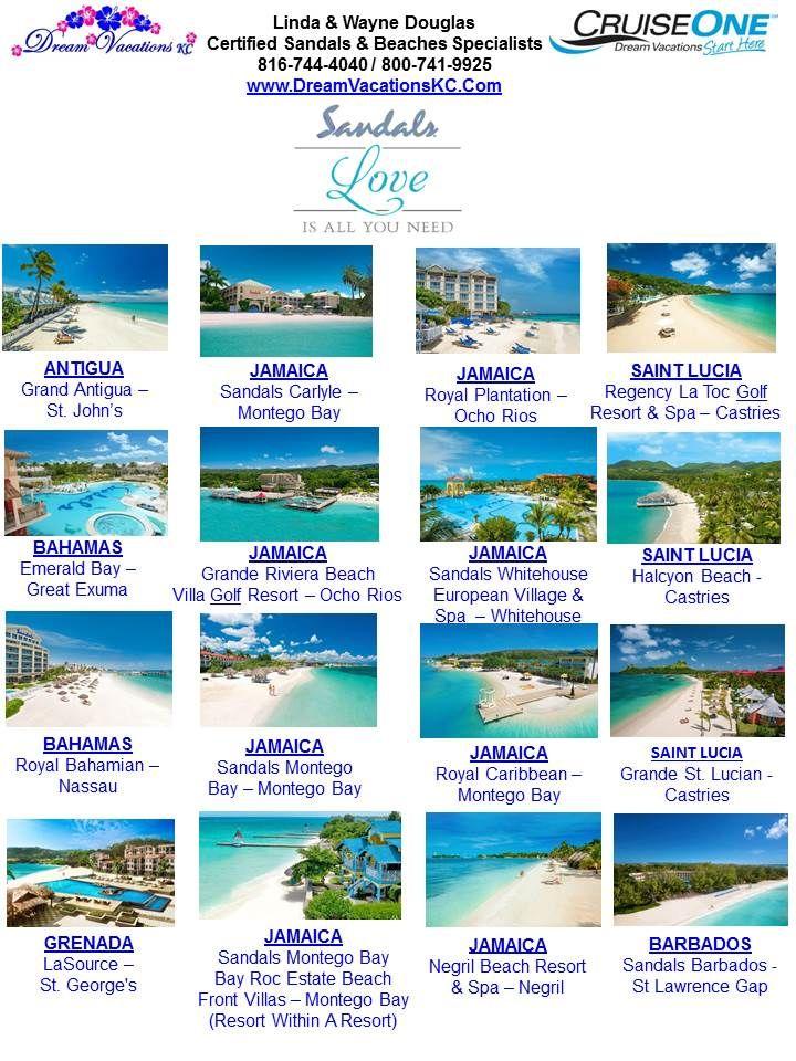 Dream Cruise, Montego Bay Resorts