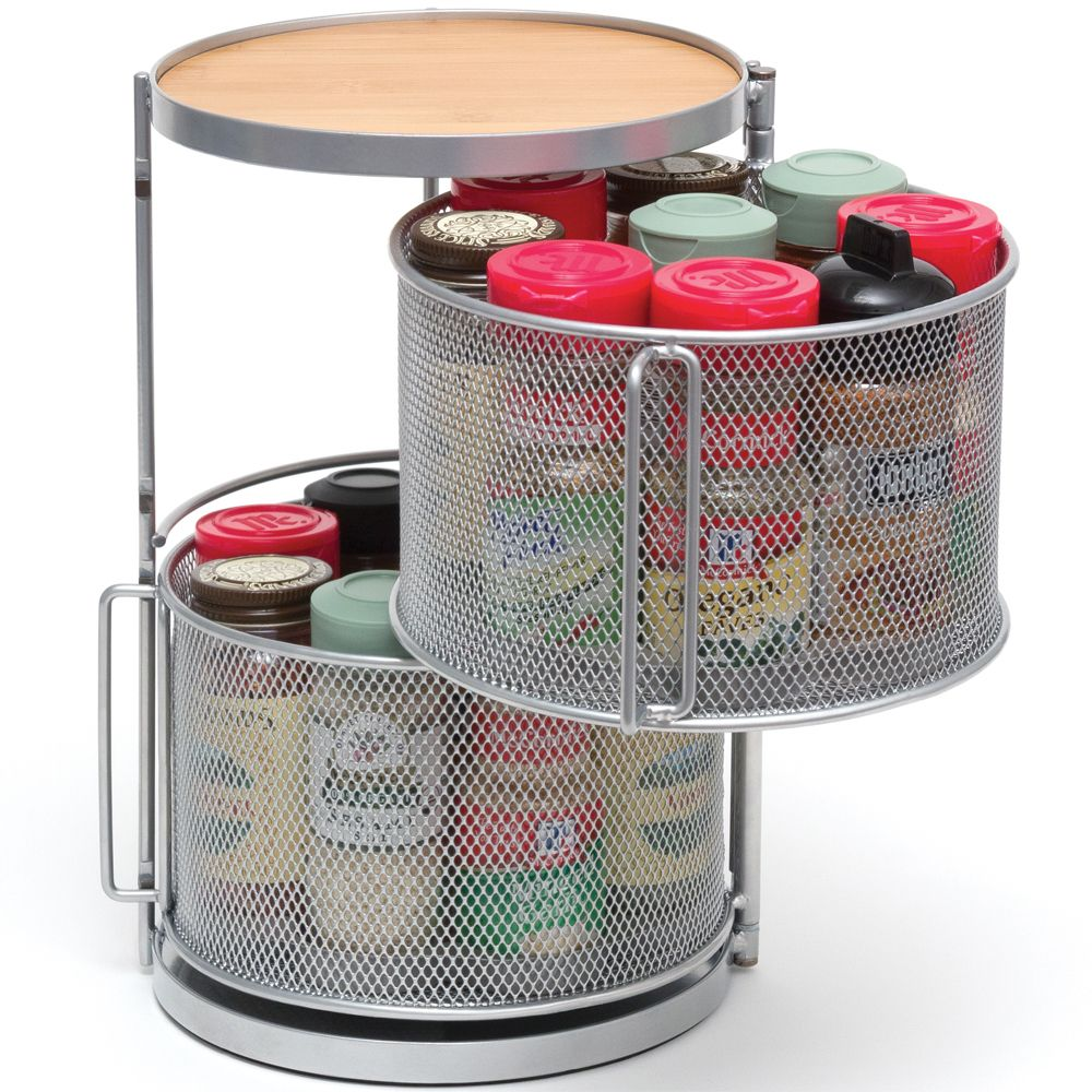 Add The Countertop Spice Organizer To Your Kitchen Counter So You Can Easily Keep Small Spice Jars Neatly Stored And Organi Spice Organization Spice Rack Decor
