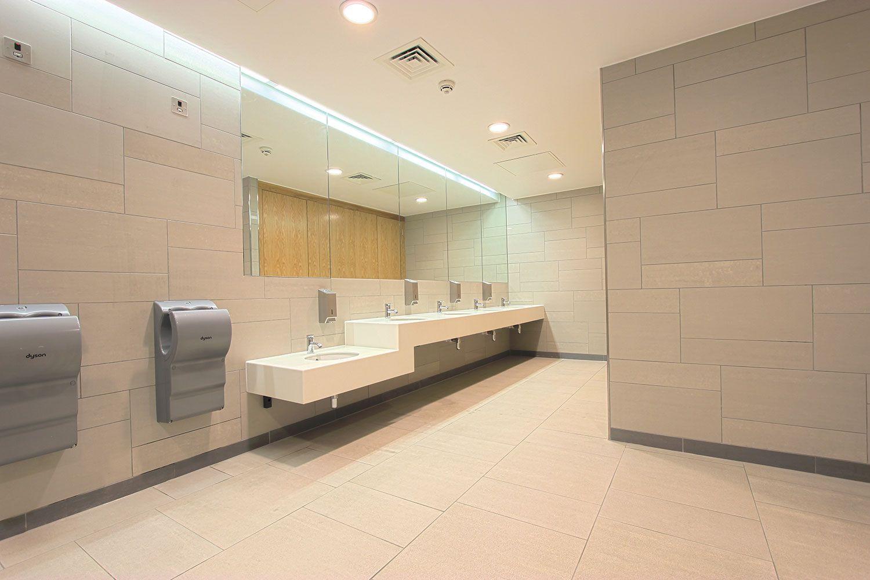 a fantastically luxurious public bathroom at edgbaston priory