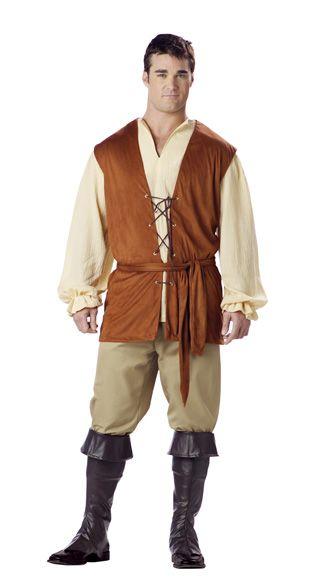 Mens-Medieval-Peasant-Costume.jpg  sc 1 st  Pinterest & Mens-Medieval-Peasant-Costume.jpg | Nim | Pinterest | Medieval ...