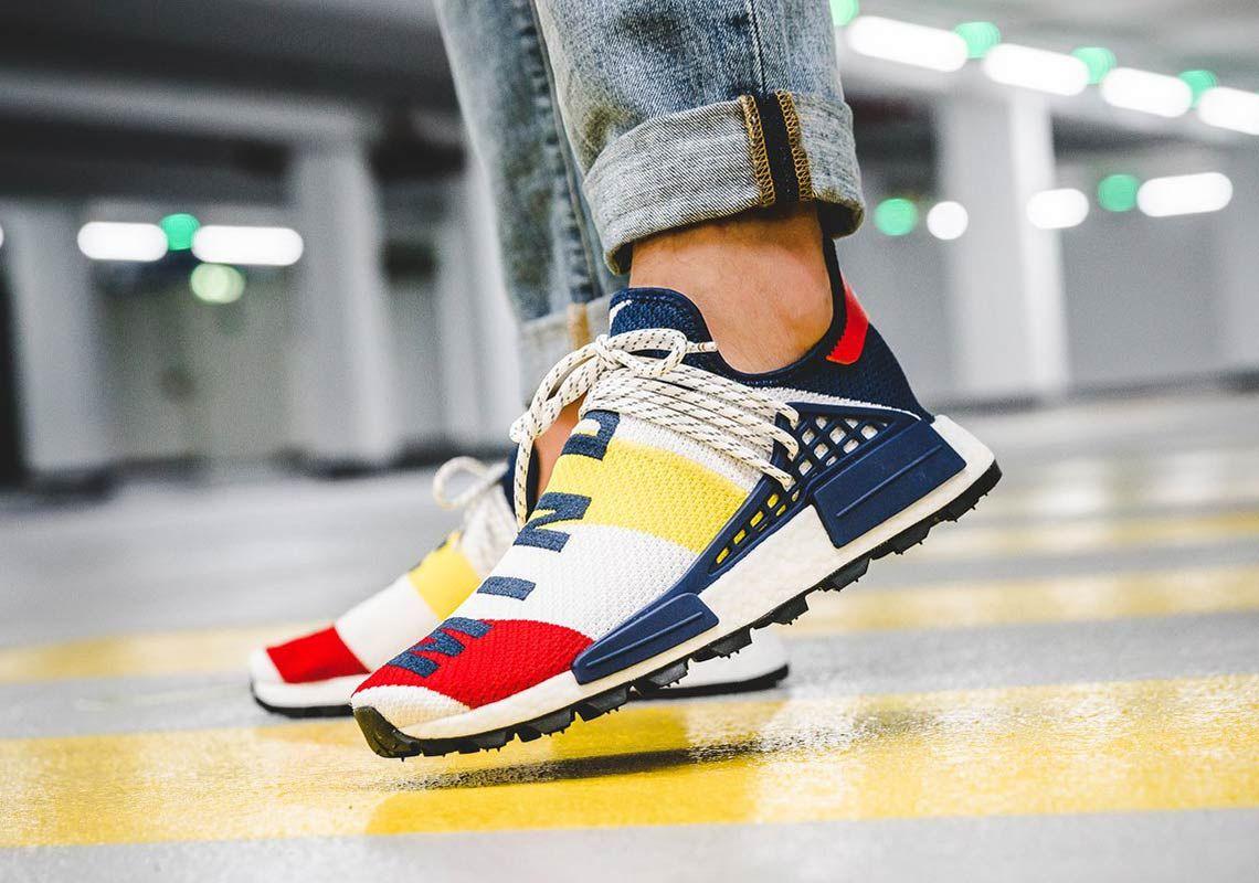 Bbc Adidas Nmd Hu Tennis Hu Release Date Sneakernews Com Sneakers Men Fashion Human Race Shoes Sneakers