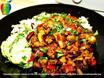 Alkaline Diet Recipes, Vegetable Chill Con Carne
