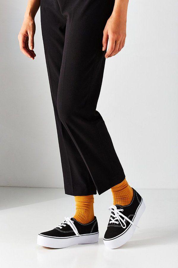 Vans Authentic Platform Sneaker | Vans authentic outfit