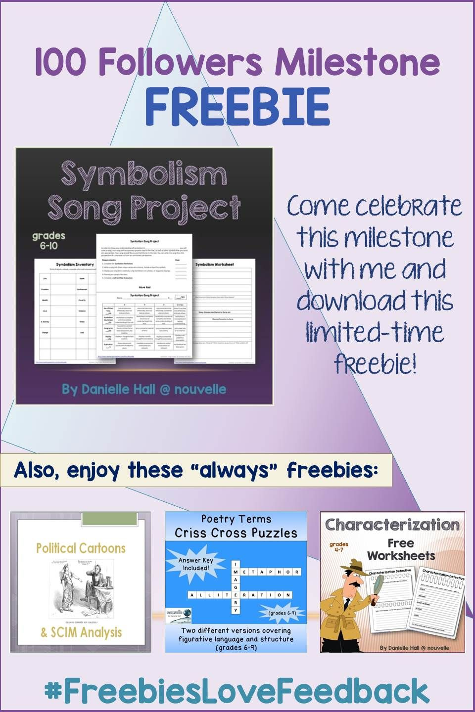 Symbolism Song Project Teacher Language Arts And Language