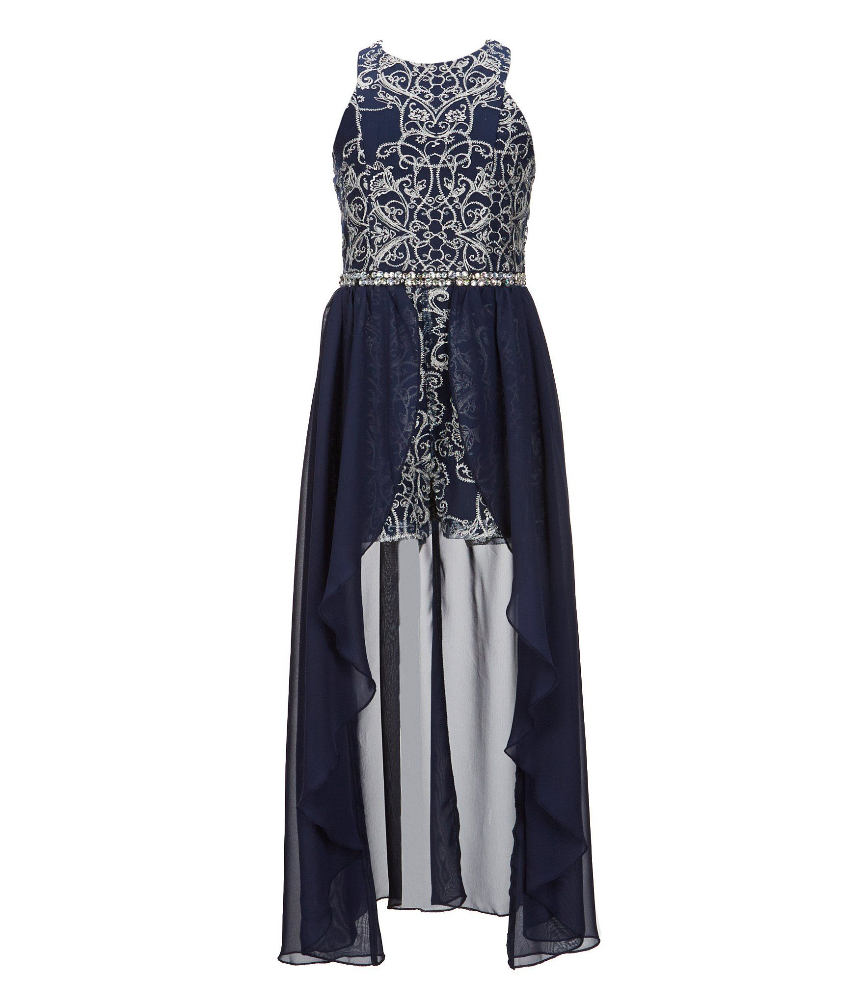 101c6645429f Shop for Xtraordinary Big Girls 7-16 Embroidered Maxi Romper at Dillards.com.  Visit Dillards.com to find clothing